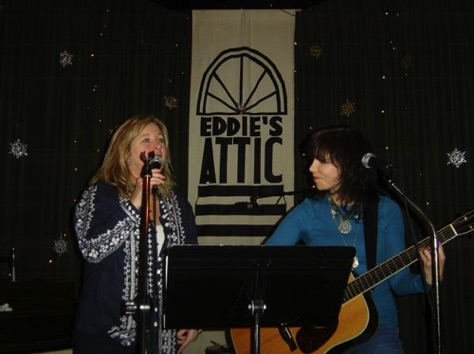 With Diane Durrett at Eddie's Attic Atlanta, GA