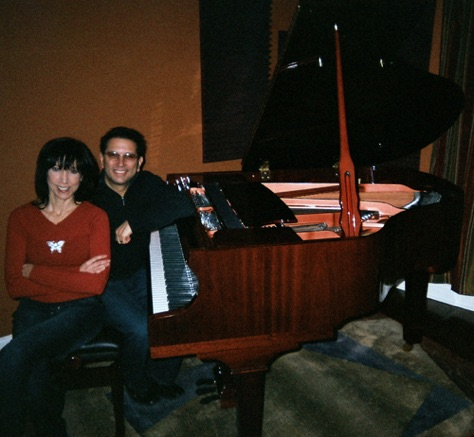 Long time co-writer, best friend Joey Melotti (currently w Barry Manilow band)
