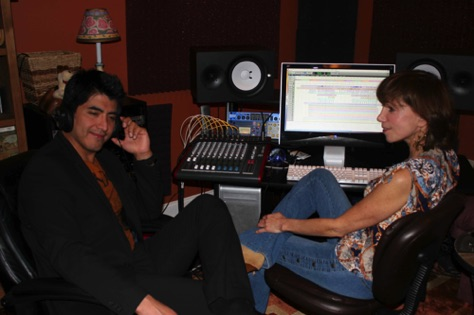 Finishing Alberto Soler's CD.