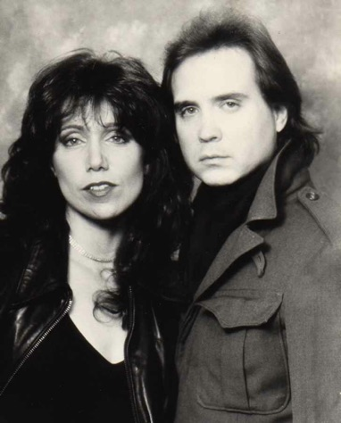 "1984 with my cowriter Robbie Georgia of our song ""We Should Be Together""."