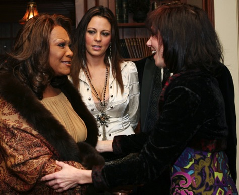 Patti LaBelle and Sara Evans.