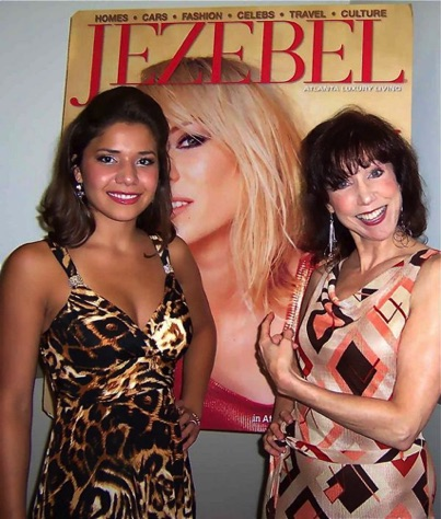 With Tiffany Milagro at a Jezebel event Atlanta, GA.